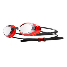 TYR Black Hawk Racing Mirrored duikbrillen Heren rood